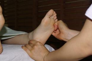 足ツボコースのイメージ